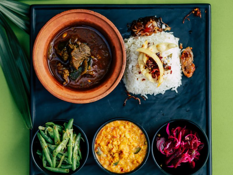 DANN9591 - Galle harak mas viyanjana Galle Beef Curry – [ Traditional Southern Style spicy Red Beef Curry]