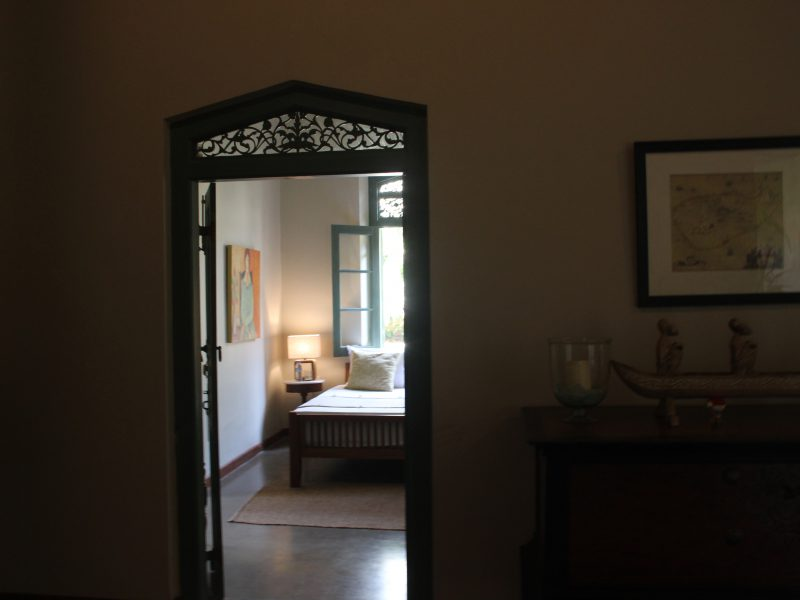 standard room entrance from lobby
