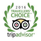 Tripadvisor Travellers Choice Award 2016