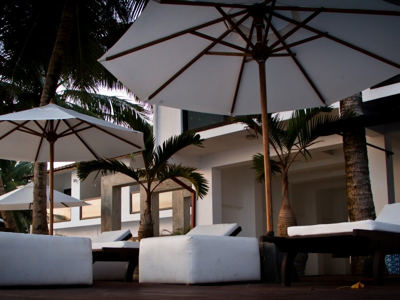 Outdoor Relaxing Venues At Cantaloupe Aqua Galle