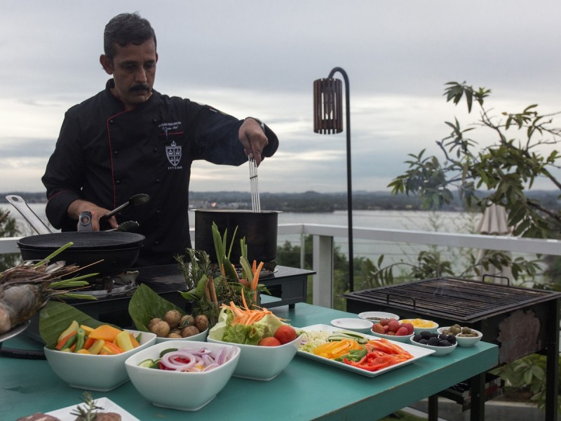 Culinary Demonstrations At Cantaloupe Levels Galle